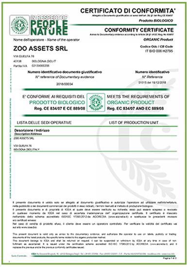 certificato di conformità-zoo assets