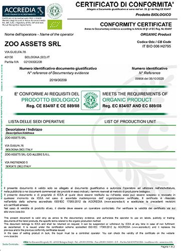 Zoo Assets_Certificato conformità BIO Icea ott2020-mar2022_immagine